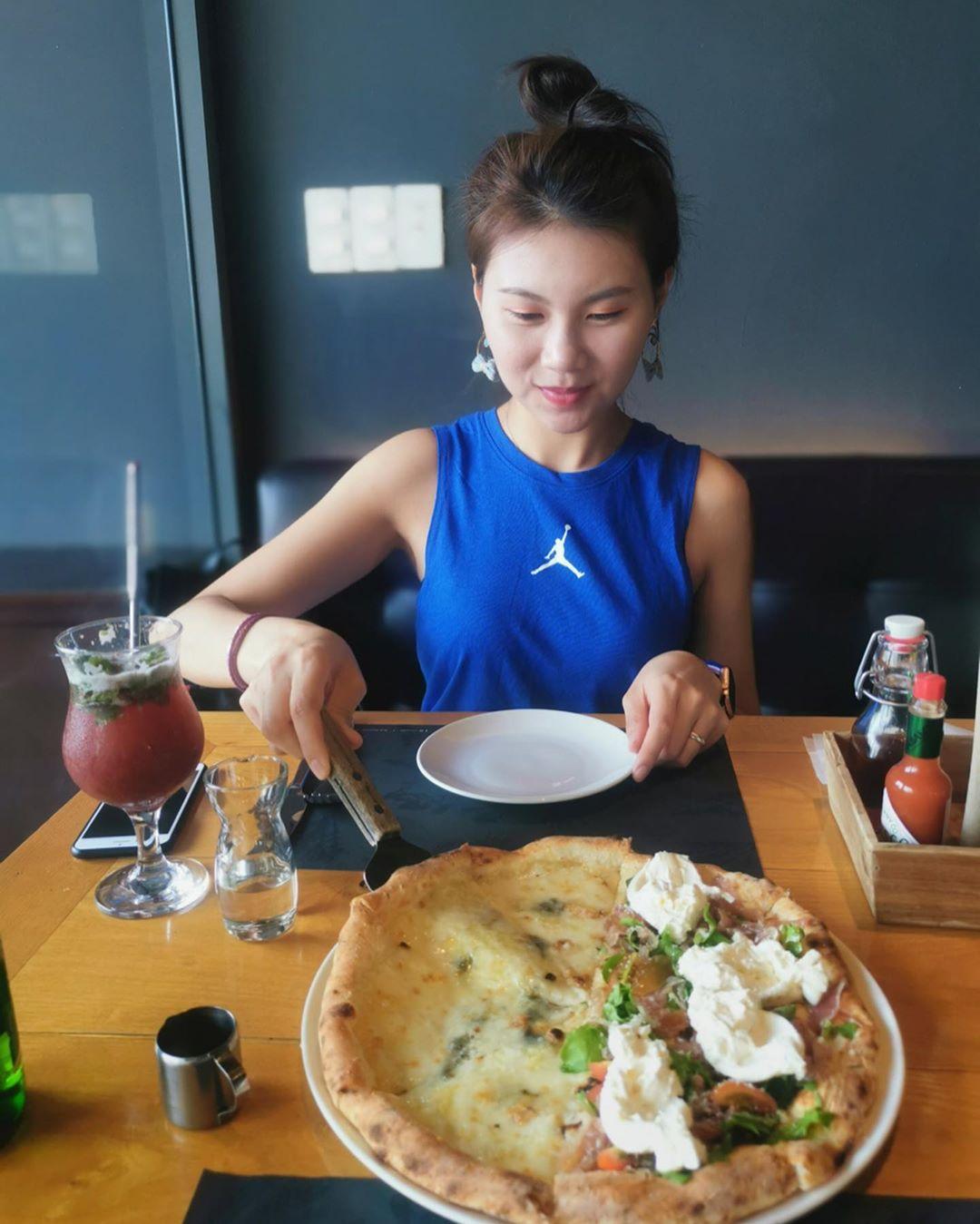 Pizza 4P's Kiểu Nhật ở Đà Nẵng với không gian rộng rãi, sang trọng