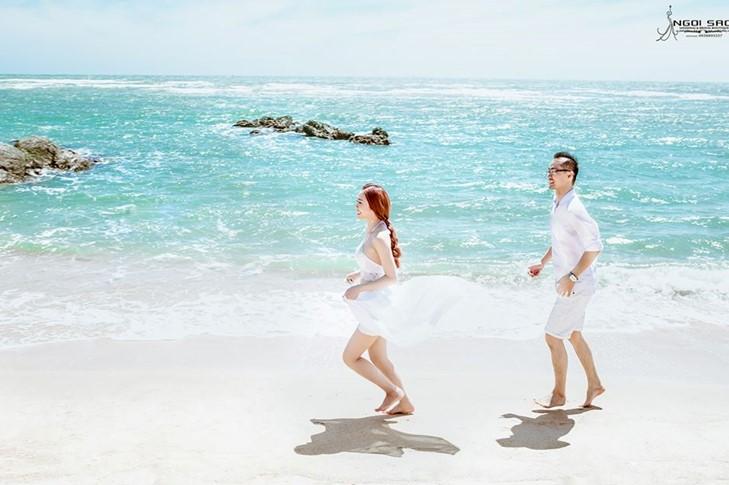 bãi biển Mỹ Khê Đà Nẵng cảnh đẹp lung linh